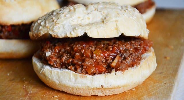 """Cultura Pregunta Trivia: ¿Dónde se originó el sándwich """"sloppy Joe""""?"""