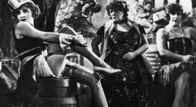 Películas Pregunta Trivia: ¿Qué actriz protagonizó la primera película sonora alemana?