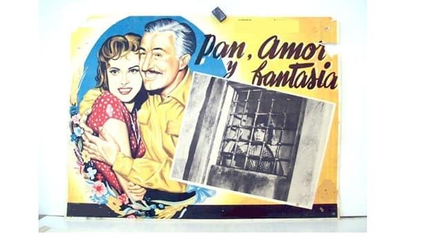 """Películas Pregunta Trivia: ¿Qué actriz se hizo famosa con el film """"Pan, amor y fantasía""""?"""