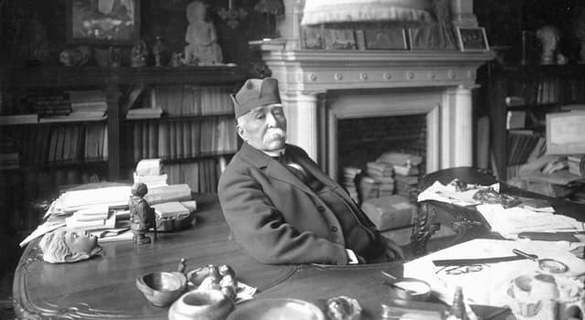 Historia Pregunta Trivia: ¿Qué cargo ocupó Georges Benjamin Clemenceau durante el régimen de la Tercera República Francesa?