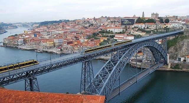 """Sociedad Pregunta Trivia: ¿Qué ciudades de Portugal une """"el puente Don Luis I""""?"""