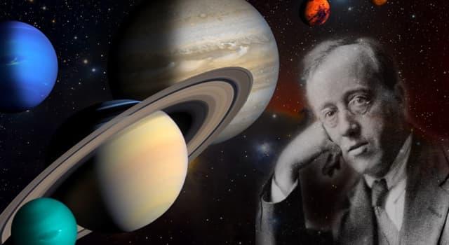 """Cultura Pregunta Trivia: ¿Qué compositor es el autor de la obra """"Los planetas""""?"""