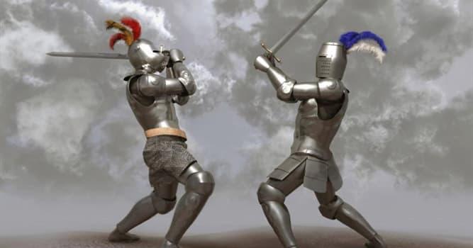 """Sociedad Pregunta Trivia: ¿Qué eran los """"juicios por combate""""?"""