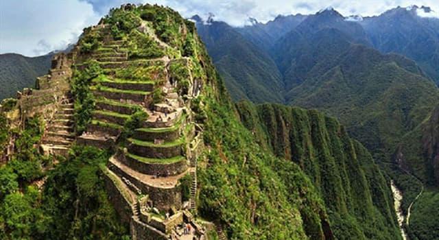 Geografía Pregunta Trivia: ¿Qué es el Huayna Picchu?