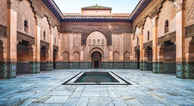 Geografía Pregunta Trivia: ¿En qué país está ubicada la Medersa o Madrasa Ben Youssef?