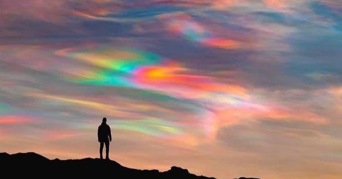 Naturaleza Pregunta Trivia: ¿Qué nombre se le da fenómeno captado en la imagen?