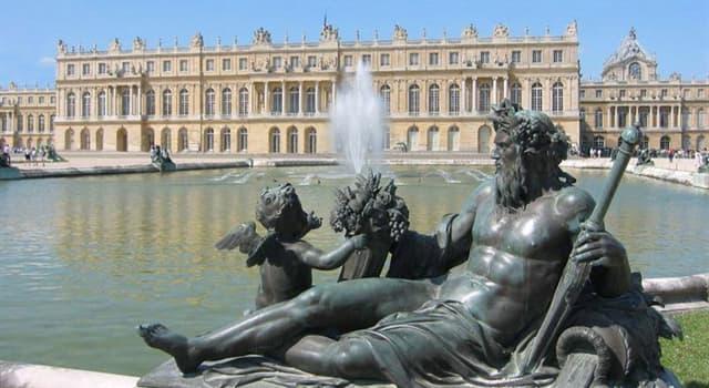Historia Pregunta Trivia: ¿Qué novedad tecnológica incorporó el Palacio de Versalles en 1743?