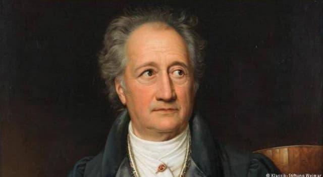 Cultura Pregunta Trivia: ¿Qué novela fue la primera y el gran triunfo del poeta y novelista Johann Wolfgang von Goethe?