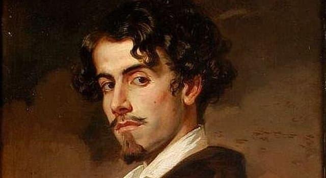 """Cultura Pregunta Trivia: ¿Qué pintor es el autor del """"Retrato de Gustavo Adolfo Bécquer""""?"""