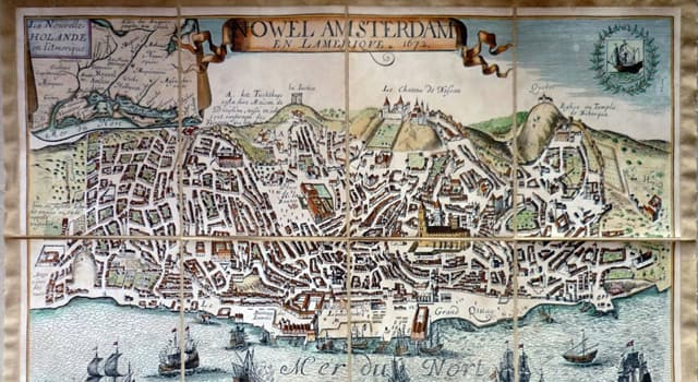 Historia Pregunta Trivia: ¿Qué posesión británica fue intercambiada por Nueva Amsterdam (posesión holandesa)?