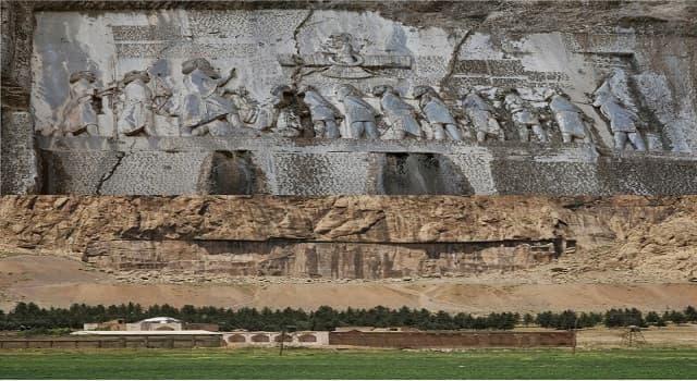 Cultura Pregunta Trivia: ¿Qué rey persa ordenó grabar en el muro de un acantilado las Inscripciónes de Behistún?