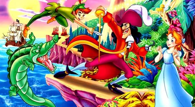 Cultura Pregunta Trivia: ¿Qué se come el cocodrilo en la historia de Peter Pan además de la mano del pirata?