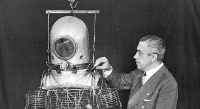 Sociedad Pregunta Trivia: ¿Quién creó el primer prototipo de traje espacial que data de 1935?