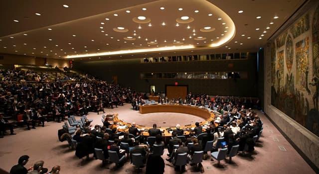 Cultura Pregunta Trivia: ¿Quién designa al secretario general de las Naciones Unidas?