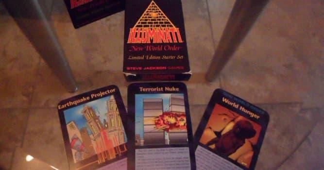 Sociedad Pregunta Trivia: ¿Quién es creador del juego de mesa Iluminati (The Game of Conspiracy)?