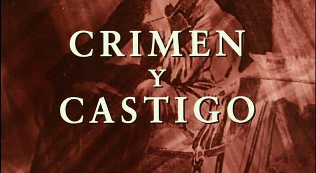"""Cultura Pregunta Trivia: ¿Quién es el autor del libro """"Crimen y castigo""""?"""