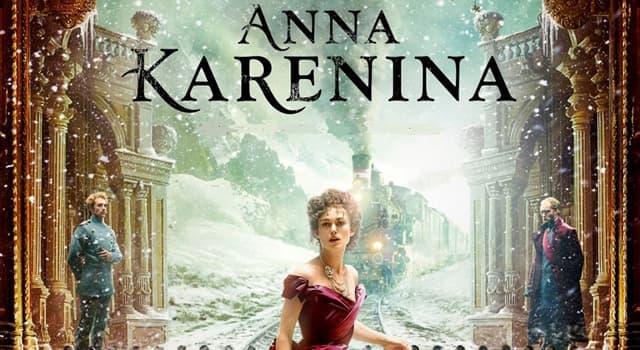Cultura Pregunta Trivia: ¿Quién escribió Anna Karenina?