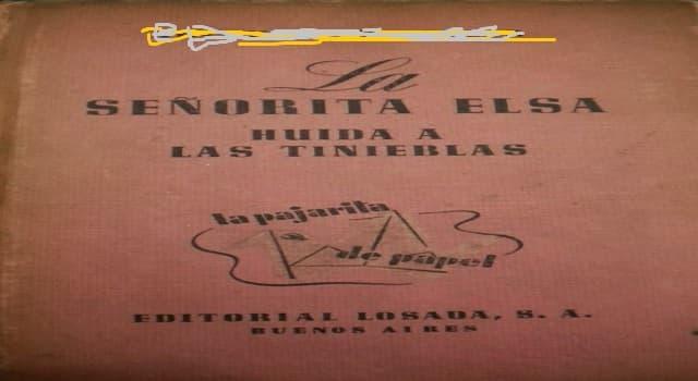"""Cultura Pregunta Trivia: ¿Quién escribió la novela """"La señorita Else""""?"""