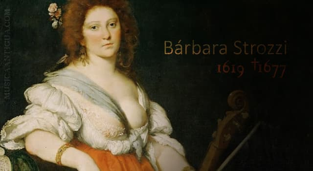 Cultura Pregunta Trivia: ¿Quién fue Barbara Strozzi?