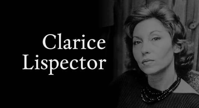 Sociedad Pregunta Trivia: ¿Quién fue Clarice Lispector?