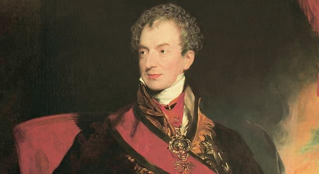 Historia Pregunta Trivia: ¿Quién fue Clemente Wenceslao Lotario de Metternich?