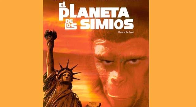 """Películas Pregunta Trivia: ¿Quién fue el protagonista del primero de los films sobre """"El planeta de los simios""""?"""