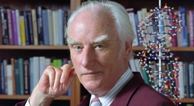 Сiencia Pregunta Trivia: ¿Quién fue Francis Harry Crick?