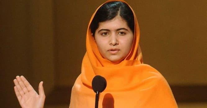 Sociedad Pregunta Trivia: ¿Quién fue la ganadora del premio Nobel más joven, que sufrió un atentado por defender la educación de niñas?