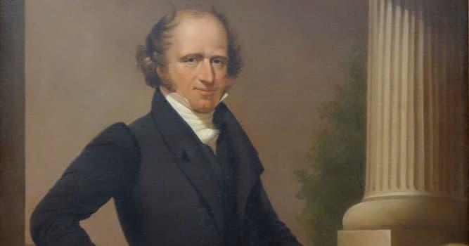 Historia Pregunta Trivia: ¿Quién fue Martin van Buren?