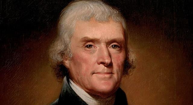 Historia Pregunta Trivia: ¿Quién fue Thomas Jefferson?