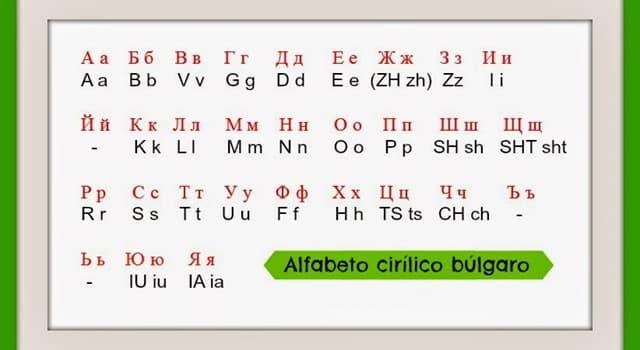 Historia Pregunta Trivia: ¿Quién inventó el alfabeto cirílico?