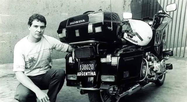 Sociedad Pregunta Trivia: ¿Quién ostenta el récord mundial de viaje más largo en motocicleta?