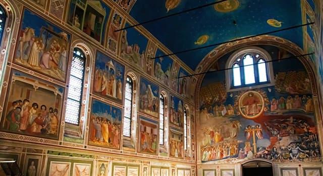 Cultura Pregunta Trivia: ¿Quién pintó el ciclo de frescos que decoran la Capilla de los Scrovegni en Padua?