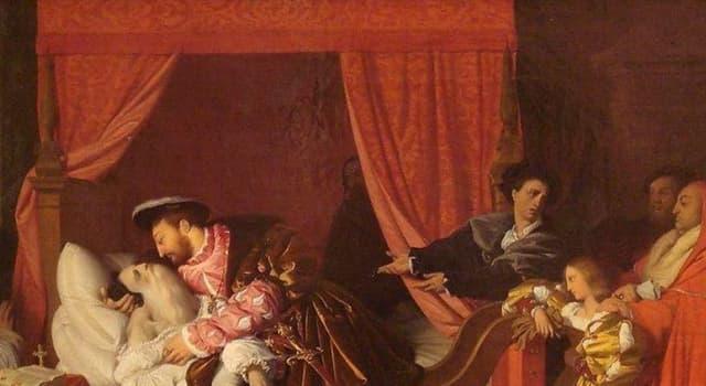 "Cultura Pregunta Trivia: ¿Quién pintó el cuadro ""La muerte de Leonardo da Vinci""?"