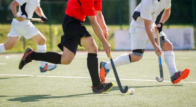 Deporte Pregunta Trivia: ¿Cuántos jugadores tiene en cancha cada equipo en un partido de hockey sobre césped?