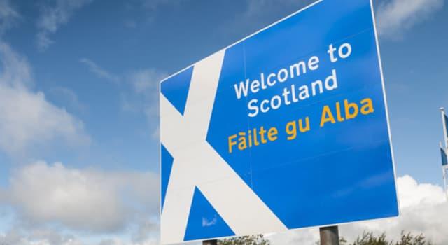 Geografía Pregunta Trivia: ¿Cuál de los siguientes es un idioma oficial hablado en Escocia?