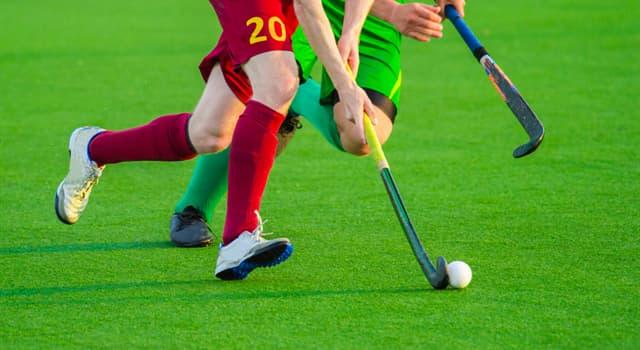 Deporte Pregunta Trivia: ¿Dónde se originó la versión moderna del hockey sobre césped?