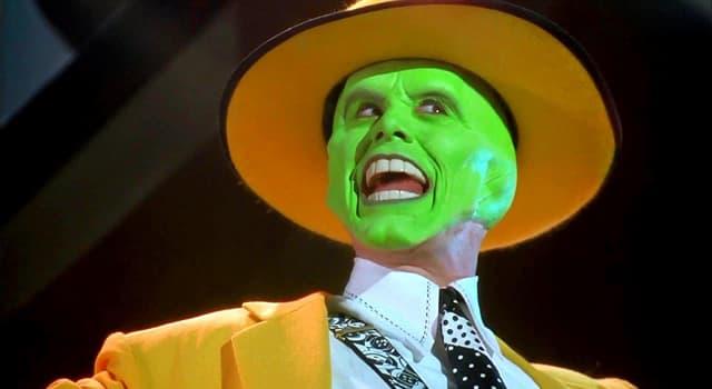"""Películas Pregunta Trivia: ¿En qué año se estrenó """"La máscara"""", la película protagonizada por Jim Carrey?"""