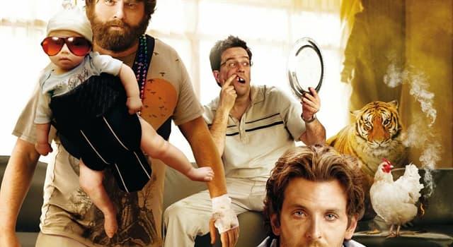 """Películas Pregunta Trivia: En """"The Hangover"""", ¿a dónde viajan los cuatro amigos para festejar una despedida de soltero?"""
