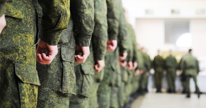 Sociedad Pregunta Trivia: ¿Qué término designa al conjunto de medidas que sirven para preparar a las tropas para la guerra?