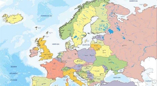 Geografía Pregunta Trivia: ¿Cuál es el país menos densamente poblado de Europa?