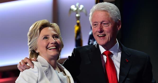 Sociedad Pregunta Trivia: ¿Cómo se llama la esposa de Bill Clinton?