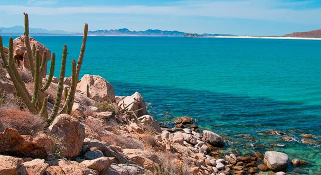 Geografía Pregunta Trivia: ¿Dónde está localizada la península de Baja California?