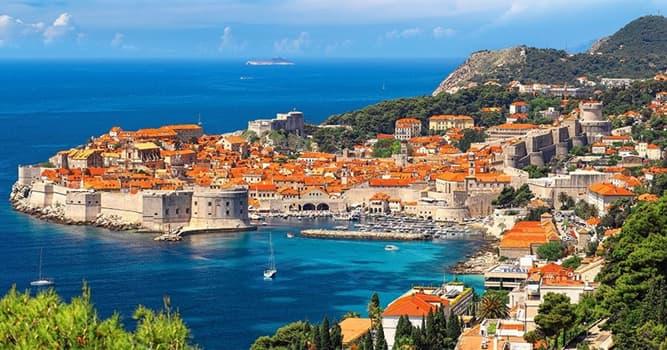Geografía Pregunta Trivia: ¿Dónde está la ciudad de Dubrovnik?