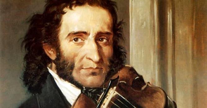 Cultura Pregunta Trivia: ¿Dónde nació Niccolò Paganini, considerado uno de los mejores violinistas de todos los tiempos?