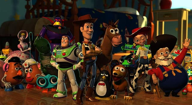 """Películas Pregunta Trivia: ¿Qué actor hace la voz de Woody en la versión inglesa de la película """"Toy Story""""?"""