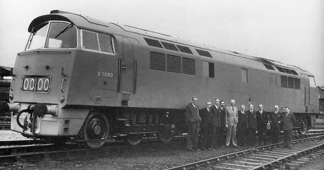Historia Pregunta Trivia: ¿Qué país introdujo en 1912 la primera locomotora diésel del mundo?