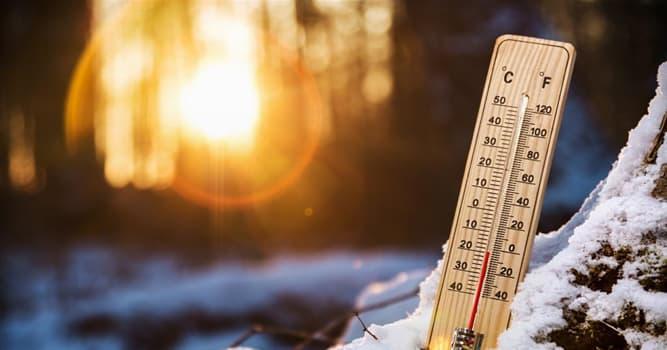 Сiencia Pregunta Trivia: ¿Cuál de las siguientes palabras NO está relacionada con unidades de temperatura?