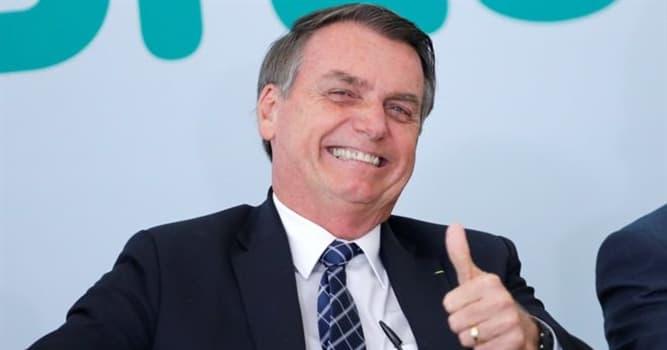 Society Trivia Question: Who is Jair Bolsonaro?