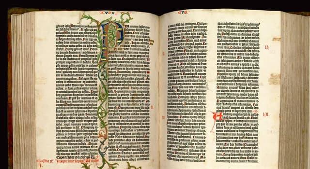 """Cultura Pregunta Trivia: ¿A cuál de las siguientes Biblias se la conoce como """"Biblia de 42 líneas""""?"""